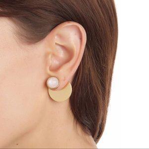 Kate Spade Sunshine Stones Bar Jacket Earrings